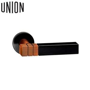 UNION(ユニオン) UL734-001S シリンダー錠WCS01002付 電気錠対応ドアレバーハンドル[イノヴ][代引不可商品]