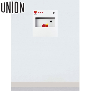 UNION(ユニオン) 全埋込消火器ボックス[アルジャン] UAB-104ZB-PWH [代引不可商品]