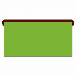 ユニット 安全掲示板(木製)小サイズ 本体のみU字金具4個付 312-15 [個人宅配送不可]