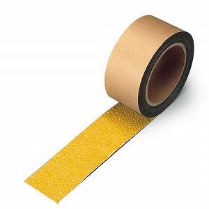 ユニット すべり止めテープ 縞鋼板用 黄 50×18 374-726