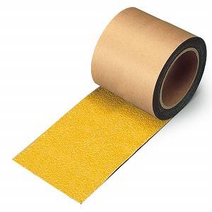 ユニット すべり止めテープ 縞鋼板用 黄 100×18 374-727