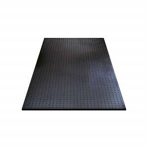 ユニット ブラックターフ(養生用ゴムマット)1000×2000×15 386-91 [個人宅配送不可]