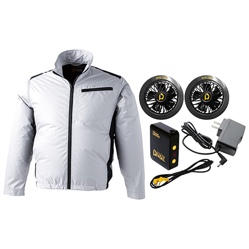 ◆藤原産業 SK11 WZライトファンジャケットセット 9187SK-3L