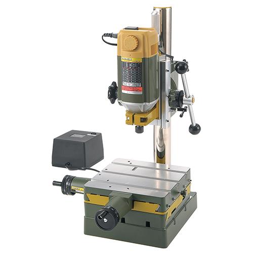 木材、金属の加工ができる小型工作機械です。 ◆キソパワーツール プロクソン フライスマシン No.27000