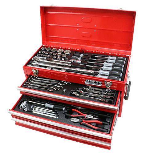 ◆藤原産業 SK11 整備工具セット SST-19117RE [個人宅配送不可]