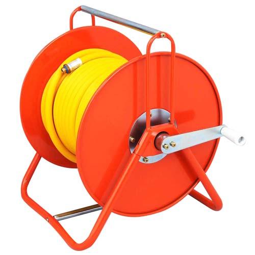 ◆藤原産業 セフティ-3 ホース付巻取機 8.5X30M