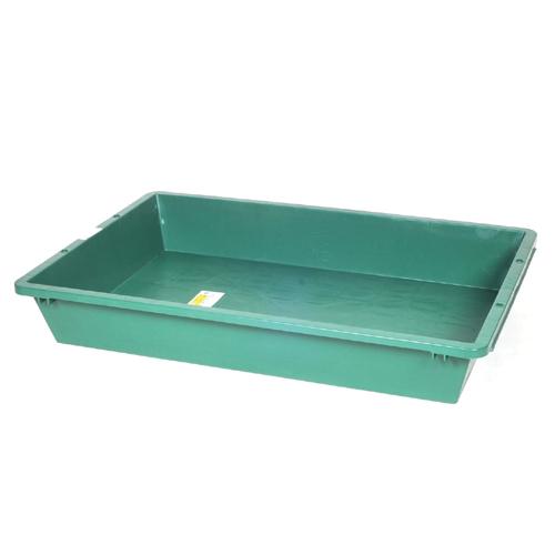 ◆藤原産業 緑長 プラスチック製トロ舟 200ガタ [個人宅配送不可]