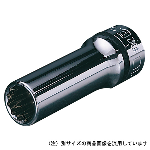 ◆京都機械工具 KTC ネプロス 9.5mmディープソケット NB3L-10W [個人宅配送不可]