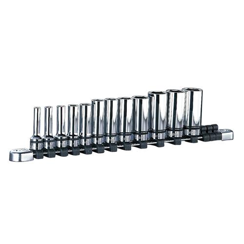 ◆京都機械工具 KTC ネプロス 9.5ディープソケットセット NTB3L12A