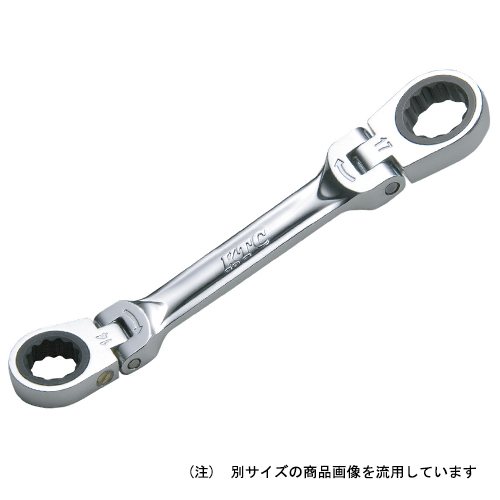 ◆京都機械工具 KTC ショートラチェットメガネ MR1S-1012F