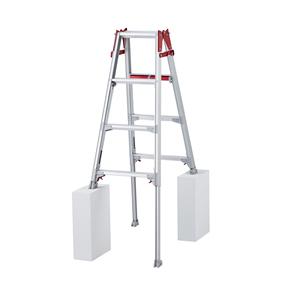 長谷川工業 アルミ製 はしご兼用伸縮脚立 RYHL-12 [個人宅配送不可]
