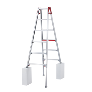 長谷川工業 アルミ製 はしご兼用伸縮脚立 RYHL-18 [個人宅配送不可]