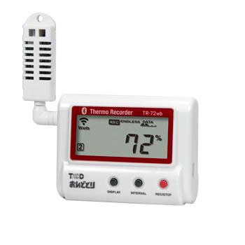 ティアンドディ クラウド対応温湿度データロガー TR-72wb