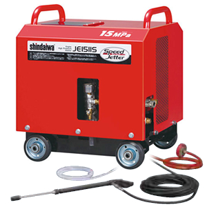 やまびこ(新ダイワ) ガソリンエンジン高圧洗浄機 JE1511S-Y320B 吐水ホース、噴射ガン付 [配送制限商品]