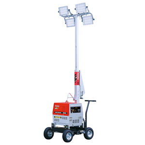 やまびこ(新ダイワ) LEDバッテリー プロジェクター投光機 SL420LBG 4灯式 [送料別途お見積り]