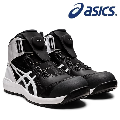 アシックス(asics) 安全靴 ウィンジョブ CP304 Boa 1271A030-001 カラー:ブラック×ホワイト【在庫有り】【あす楽】