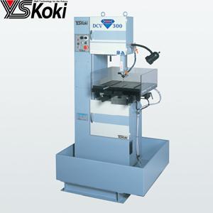 ワイエス工機 ダイヤソーマシン DCV-300SA 硬質材専用切断機 切断能力:200×300mm 三相200V [大型・重量物]