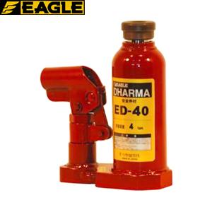 今野製作所(イーグル) ポータブル油圧ジャッキ ダルマー 標準タイプ ED-40