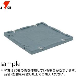 岐阜プラスチック工業 パレットBOX用蓋 BJ-1111Cロック付 GY:グレー [送料別途お見積り] [個人宅配送不可]