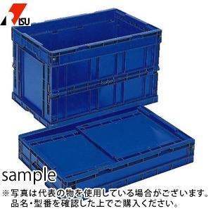 岐阜プラスチック工業 折りたたみコンテナー CB-S175C DB:ダークブルー