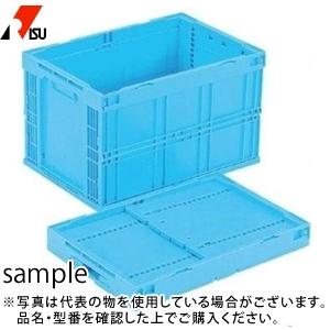 岐阜プラスチック工業 折りたたみコンテナー CB-S95AS B:ブルー [個人宅配送不可]