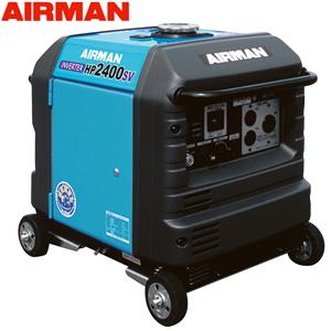 エアマン 発電機 単相100V小型ガソリンエンジン発電機 (ホンダEU24i同等商品) 北越工業(AIRMAN) ガソリンエンジン発電機 HP2400SV-A1 防音・インバータタイプ 出力2.4kVA [個人宅配送不可]