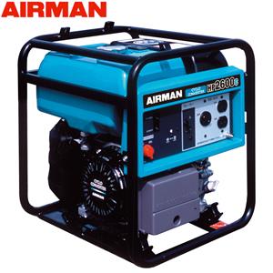 北越工業(AIRMAN) ガソリンエンジン発電機 HP2600C フレーム・サイクロコンバータタイプ 出力2.6kVA 大型商品に付き納期・送料別途お見積り