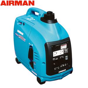 エアマン 発電機 単相100V小型ガソリンエンジン発電機 HPシリーズ 北越工業(AIRMAN) ガソリンエンジン発電機 HP900SV 防音・インバータタイプ 出力0.9kVA 大型商品に付き納期・送料別途お見積り