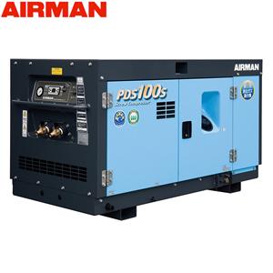 北越工業(AIRMAN) ディーゼルエンジンコンプレッサ PDS100S-5C5 ボックスタイプ 空気量2.8m3/min 大型商品に付き納期・送料別途お見積り