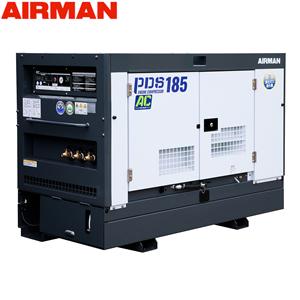 北越工業(AIRMAN) ディーゼルエンジンコンプレッサ PDS185SC-7C5 ボックスタイプ 空気量5.2m3/min 大型商品に付き納期・送料別途お見積り