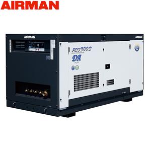 北越工業(AIRMAN) ディーゼルエンジンコンプレッサ PDS390SD-5C1 ボックスタイプ 空気量11m3/min 大型商品に付き納期・送料別途お見積り
