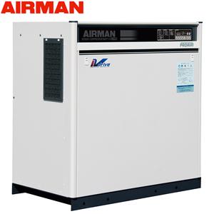 北越工業(AIRMAN) モータコンプレッサ SAS11VD 空冷タイプ 空気量1.9~1.6m3/min 大型商品に付き納期・送料別途お見積り