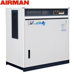 北越工業(AIRMAN) モータコンプレッサ SAS22VD 空冷タイプ 空気量4.7~3.75m3/min 大型商品に付き納期・送料別途お見積り