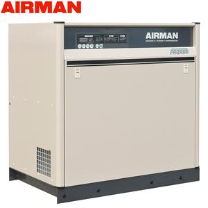 北越工業(AIRMAN) モータコンプレッサ SAS6SD 空冷タイプ 空気量0.72m3/min 大型商品に付き納期・送料別途お見積り