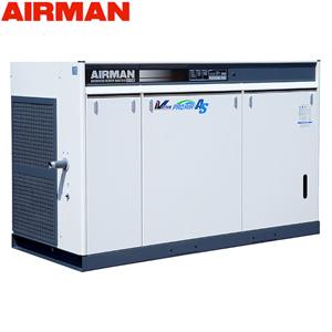 北越工業(AIRMAN) モータコンプレッサ SAS75VD 空冷タイプ 空気量16.1~12.5m3/min 大型商品に付き納期・送料別途お見積り
