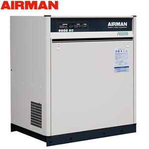 北越工業(AIRMAN) モータコンプレッサ SAS8SD 空冷タイプ 空気量1.1m3/min 大型商品に付き納期・送料別途お見積り