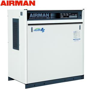 北越工業(AIRMAN) モータコンプレッサ SASG19RD 空冷タイプ 空気量2m3/min 大型商品に付き納期・送料別途お見積り