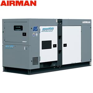 エアマン 発電機 極超低騒音仕様 SDG-ASシリーズ 北越工業(AIRMAN) ディーゼルエンジン発電機 SDG100AS-3A6 出力(50/60Hz)80/100kVA 大型商品に付き納期・送料別途お見積り