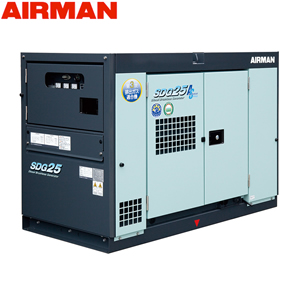 40%OFFの激安セール エアマン 発電機 極超低騒音仕様 SDG-ASシリーズ 北越工業 AIRMAN ディーゼルエンジン発電機 お買得 SDG25AS-3B1 出力 14.4 20 25 単相11.5 kVA 60Hz 50 大型商品に付き納期 送料別途お見積り