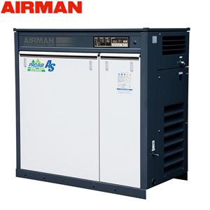 北越工業(AIRMAN) 屋外設置型モータコンプレッサ SMS22ERD 空冷タイプ 空気量4.1m3/min 大型商品に付き納期・送料別途お見積り