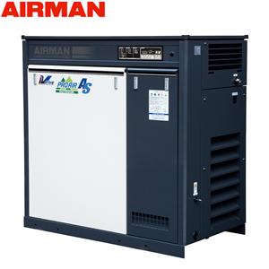 北越工業(AIRMAN) 屋外設置型モータコンプレッサ SMS22EVD 空冷タイプ 空気量4.7~3.75m3/min 大型商品に付き納期・送料別途お見積り