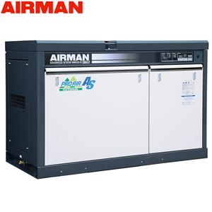 北越工業(AIRMAN) 屋外設置型モータコンプレッサ SMS22RD 空冷タイプ 空気量4.1m3/min 大型商品に付き納期・送料別途お見積り