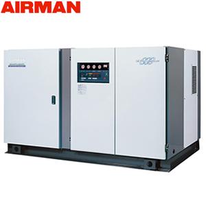 北越工業(AIRMAN) モータコンプレッサ SWD140P 水冷タイプ 空気量22.5m3/min 大型商品に付き納期・送料別途お見積り