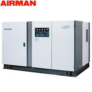 北越工業(AIRMAN) モータコンプレッサ SWD160P 水冷タイプ 空気量26m3/min 大型商品に付き納期・送料別途お見積り