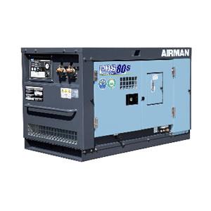 北越工業(AIRMAN) エンジンコンプレッサ PDS80S-5C5 (ボックスタイプ) 大型商品に付き納期・送料別途お見積り