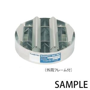 カネテック 強力丸格子形マグネット KGM-HCF25