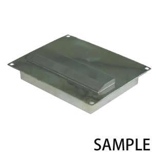 カネテック サニタリープレートマグネット 高磁力テンプレート付 タイプ PCMN-T1210