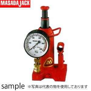 超可爱の  圧力計付油圧ジャッキ MH-20P:セミプロDIY店ファースト 日本製 マサダ製作所-DIY・工具