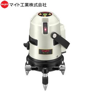 マイト工業 レーザー墨出し器 ジンバルタイプ MLA-437E