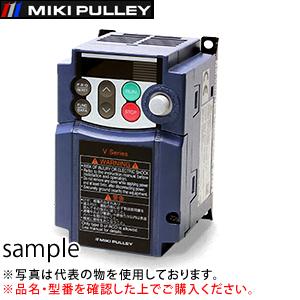 三木プーリ インバータ V7-02-4 (旧機種 V6-02-4) 電源適用モータ:三相200V/0.2kW用